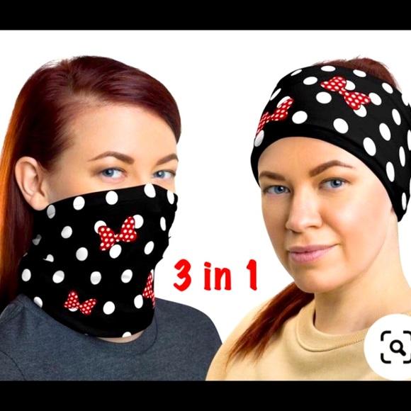🆕 Disney scarf head bnd Mask neck gaiter